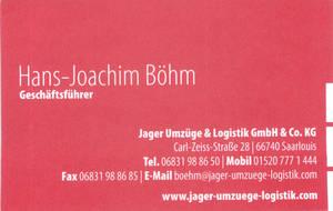 Hans-Jürgen Böhm -Jager Umzüge & Logistik GmbH